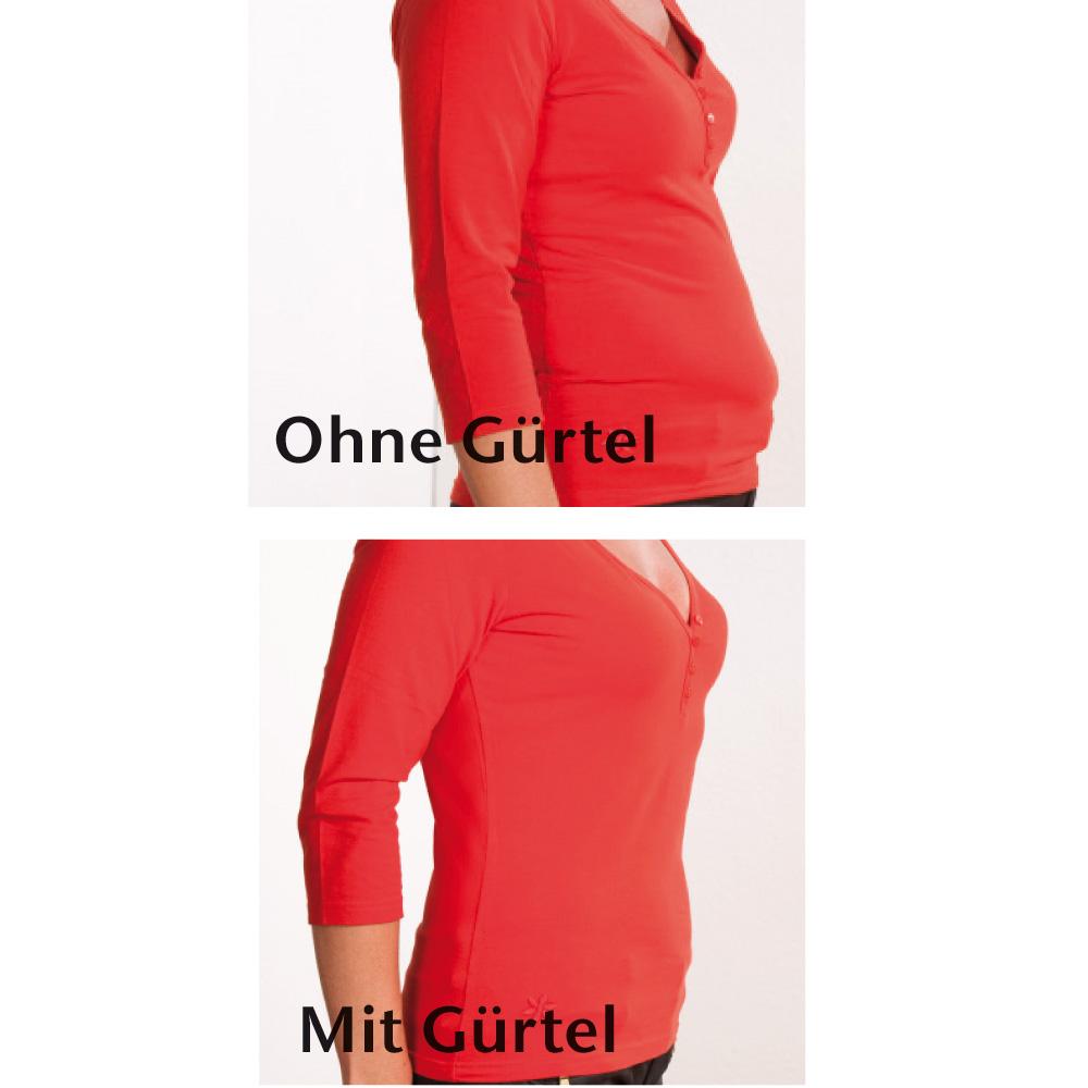 Mit und ohne Gürtel