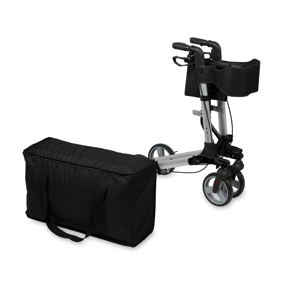 Für den einfachen und praktischen Transport des Rollators auf Reisen.