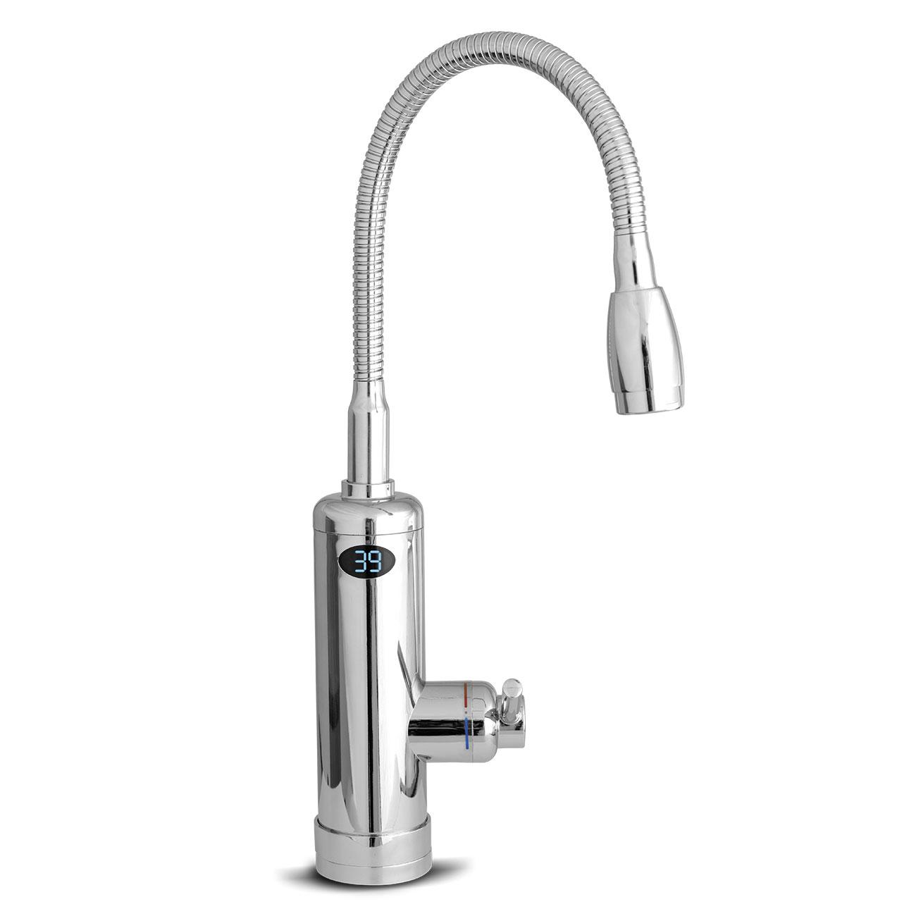 Der Aquadon Smart Heater spendet Ihnen jederzeit und sofort warmes Wasser.