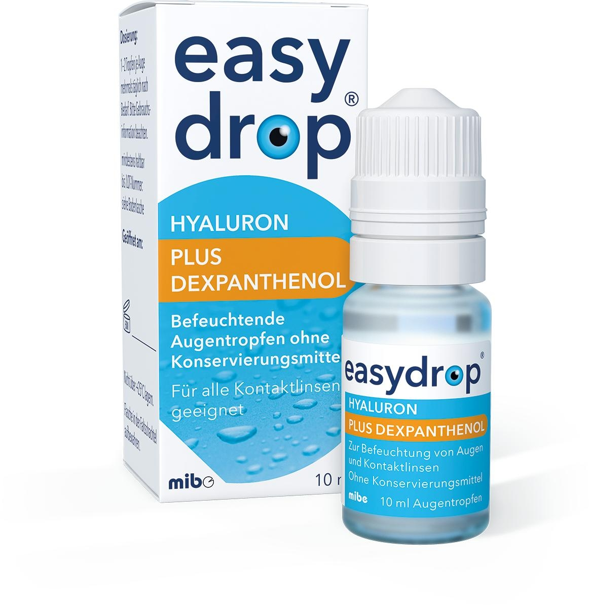 Easydrop Hyaluron plus Dexpanthenol Augentropfen 10 ml