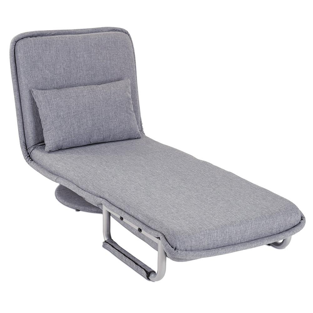 Multifunktionaler Hingucker - als Sessel, Liege oder Gästebett nutzbar!