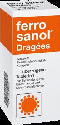Ferro Sanol überzogene Tabletten 100 St