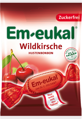EM Eukal Bonbons Wildkirsche zuckerfrei 75 g