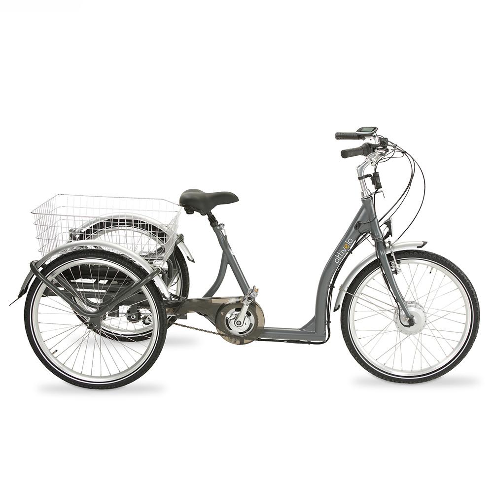 Genießen Sie die Unabhängigkeit und Mobilität, die Sie dank des Elektro-Dreirads im Alltag erhalten!
