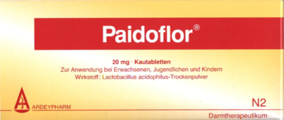 Paidoflor Kautabletten 50 St