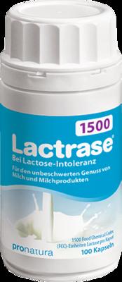 Lactrase 1.500 FCC Kapseln 100 St