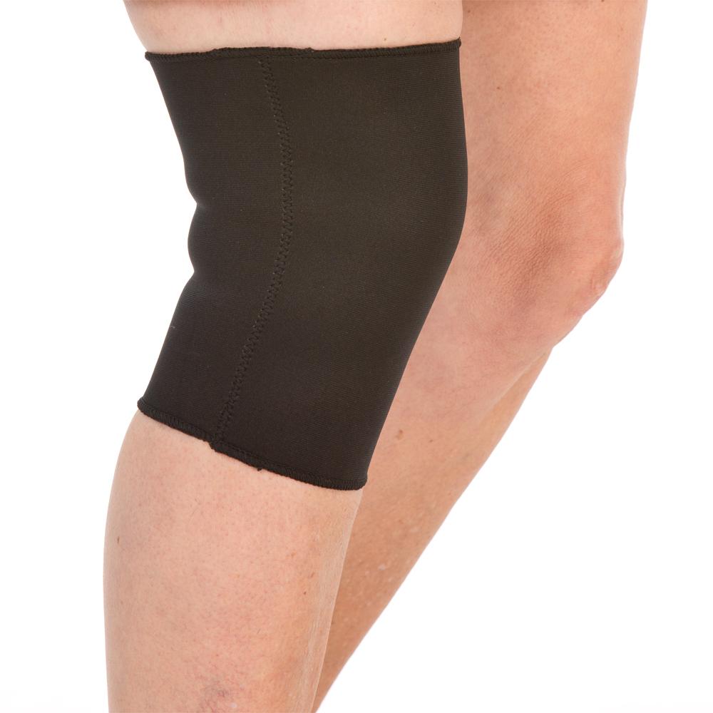 Die Kniebandage mit bestem Tragekomfort entlastet Ihr Knie