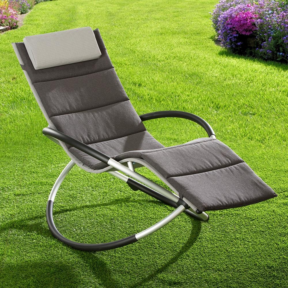 Egal ob als Poolliege, Relaxliege oder einfach als Gartenliege genießen Sie den Komfort in vollen Zügen.