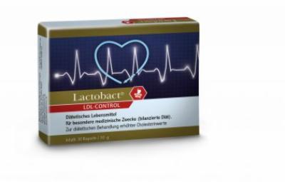 LACTOBACT LDL-Control magensaftresistente Kapseln