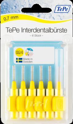 Tepe Interdentalbürste 0,7mm gelb 6 St