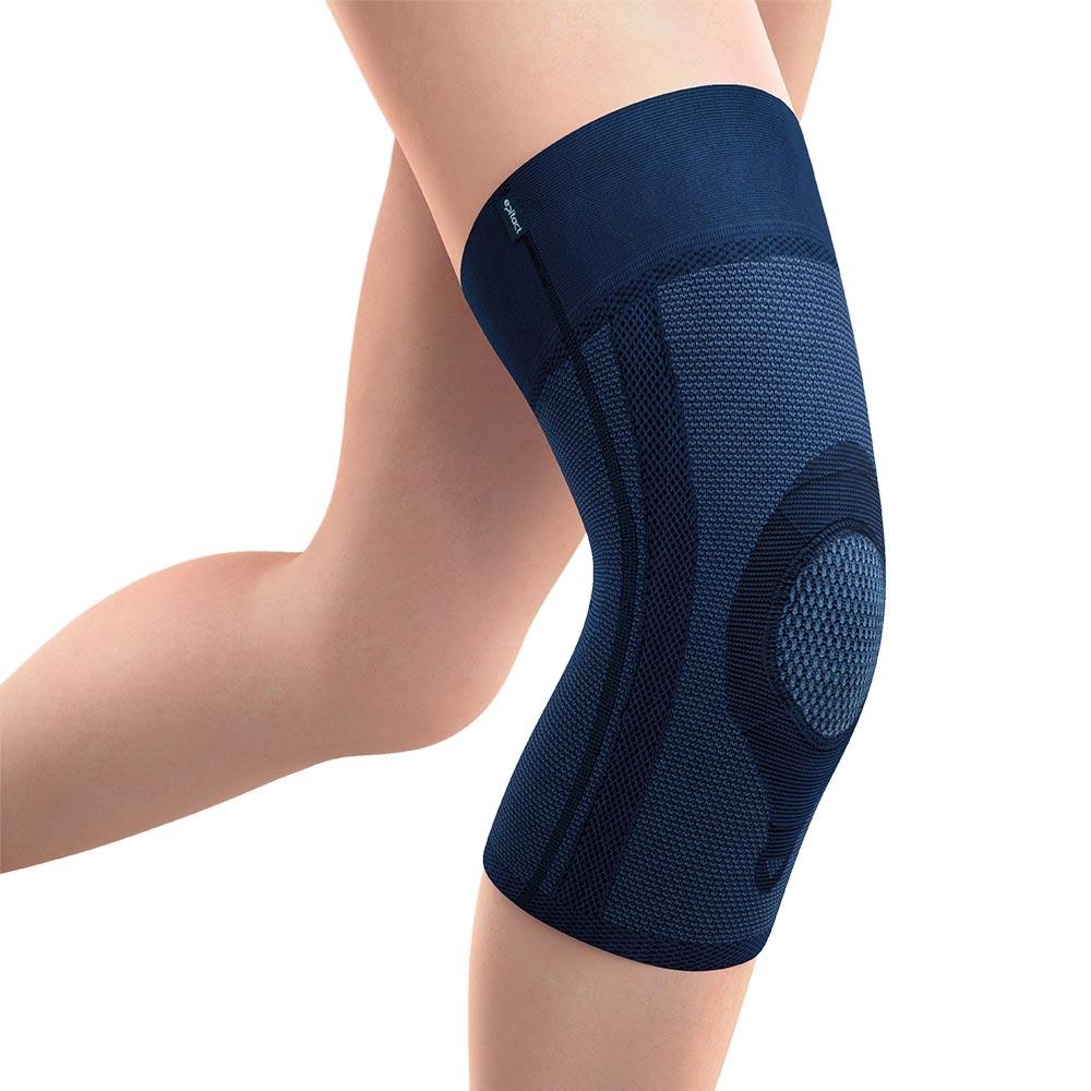Die Patella Kniebandage bietet Halt und Stabilität bei Knieproblemen, Schmerzen und Entzündungen.