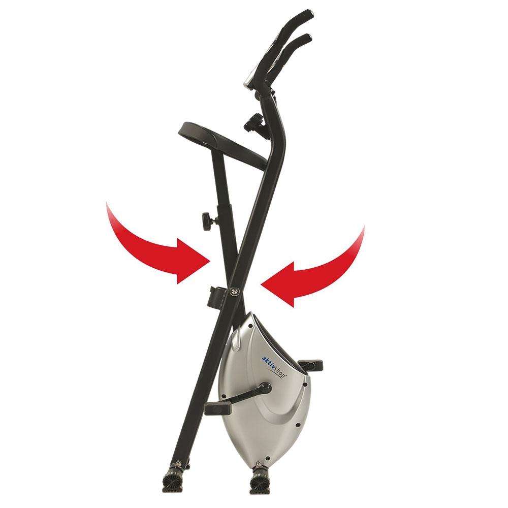 Heimtrainer X-Bike aktiv »Pro« silber schwarz