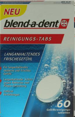 Blend A Dent Reinigungs Tabs langanhalt.Frische 60 St