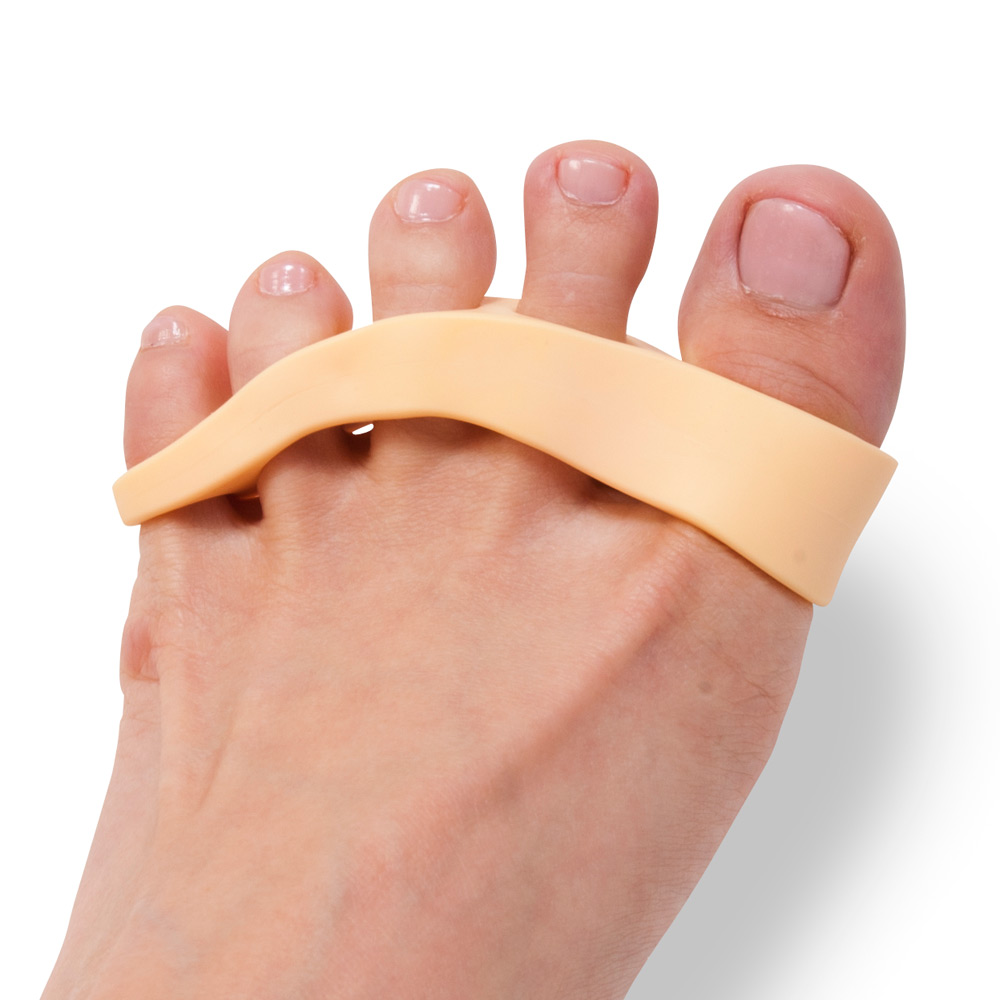 Die gesunde Streckung entlastet und entspannt die Zehen.