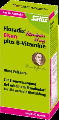 Floradix Eisen plus B Vitamine Kapseln 40 St