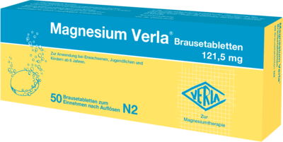 Magnesium Verla Brausetabletten 50 St