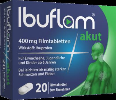 Ibuflam akut 400 mg Filmtabletten 20 St