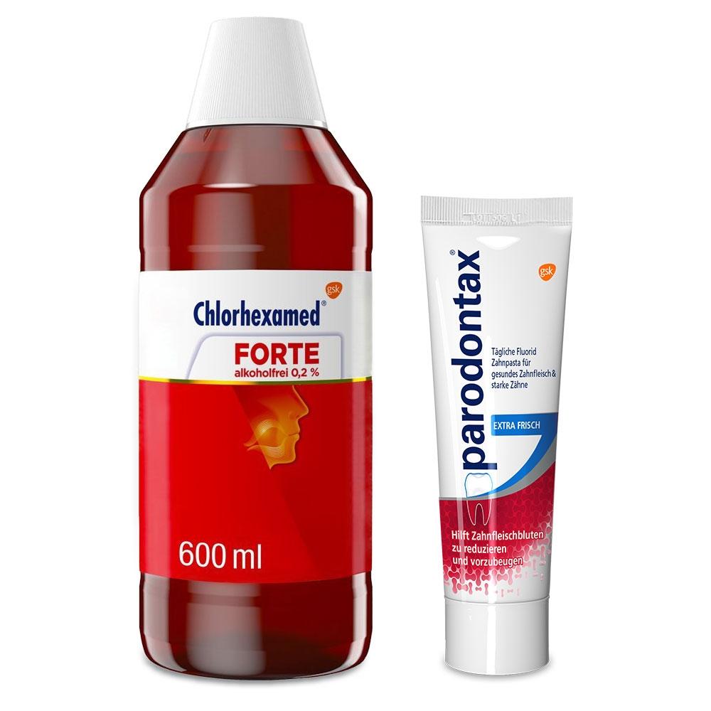 Chlorhexamed Forte alkoholfrei 0,2% Lös. 600 ml