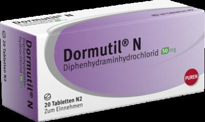 Dormutil N Tabletten 20 St