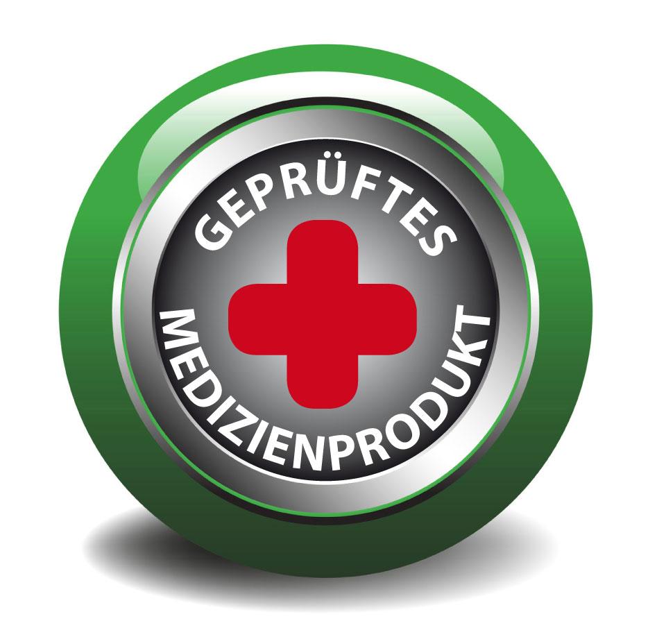 Siegel des geprüften Medizinprodukt