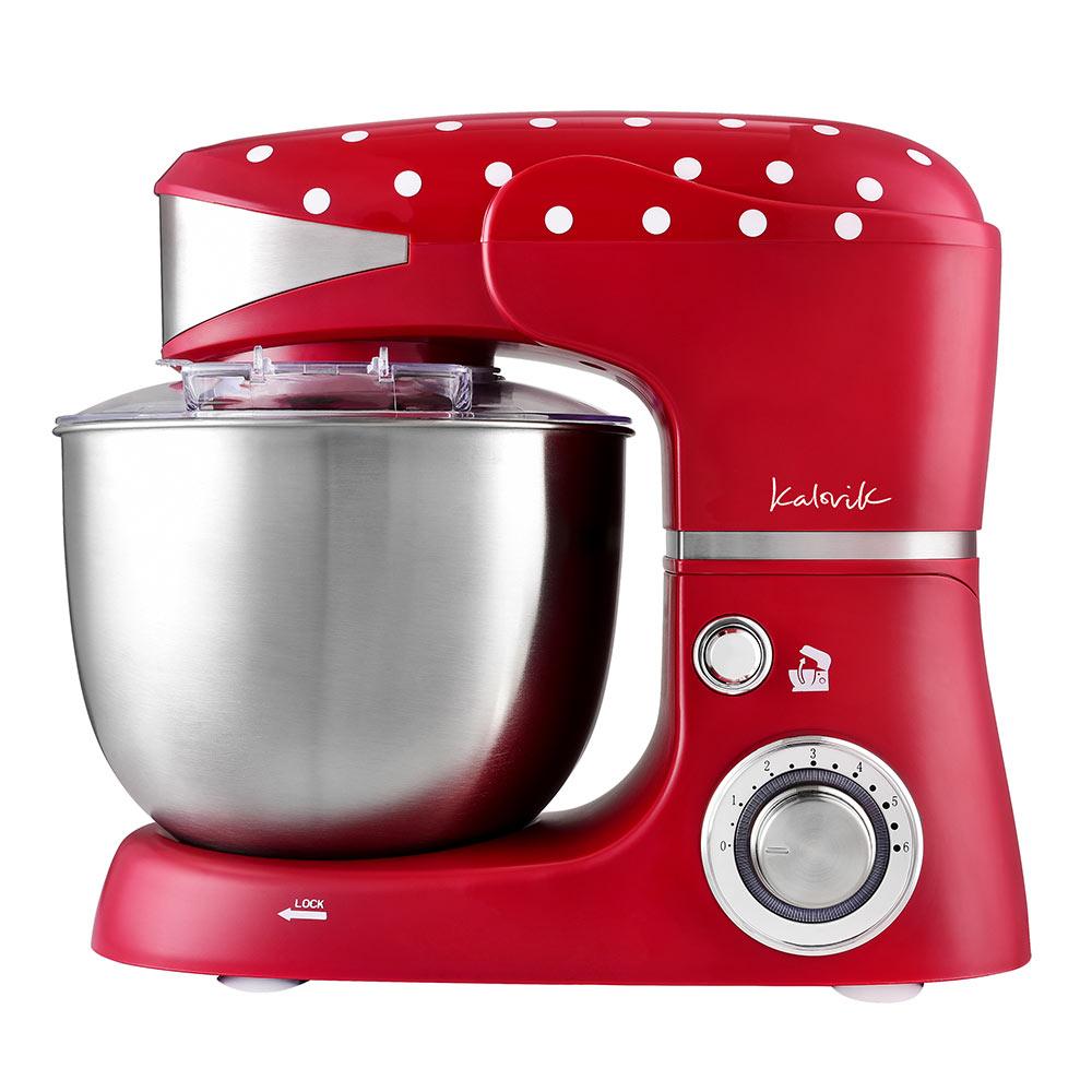 Die Küchenmaschine im angesagten Retro-Design vereinfacht Ihnen das Kochen und Backen.