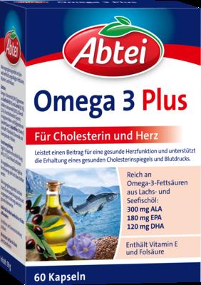 Abtei Omega-3-6-9 Lachsöl+Leinöl+Oliv.Öl Kapseln 60 St