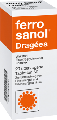 Ferro Sanol überzogene Tabletten 20 St