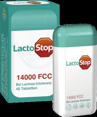 Lactostop 14.000 FCC Tabletten Spender 40 St