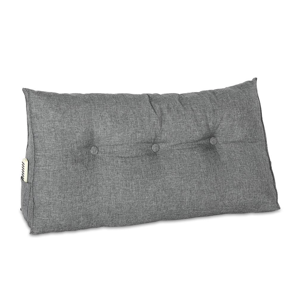 as Bett-Rückenstützkissen unterstützt die Wirbelsäule beim Sitzen oder Liegen.