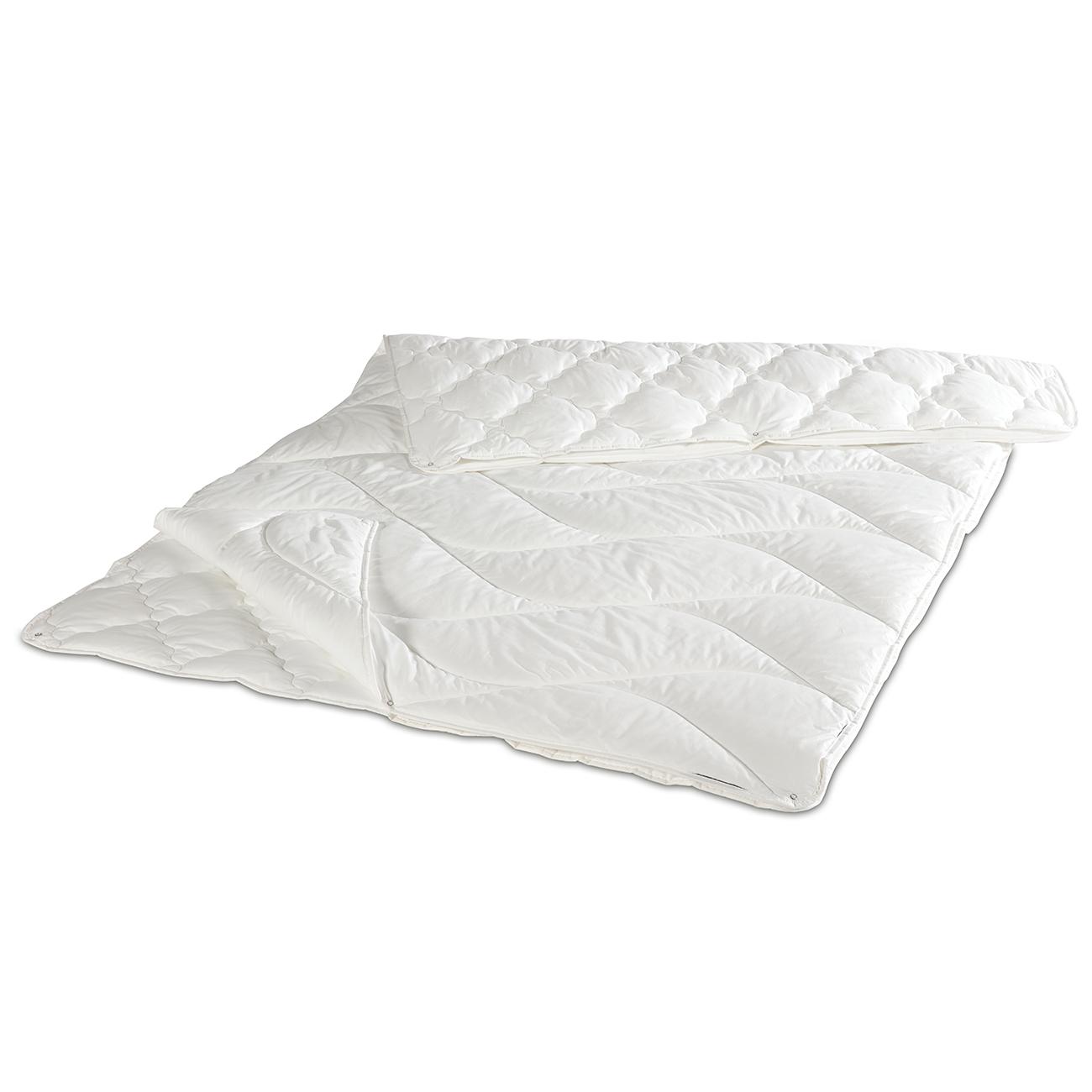 Eine Bettdecke für alle 4 Jahreszeiten