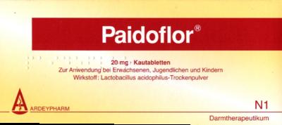 Paidoflor Kautabletten 20 St