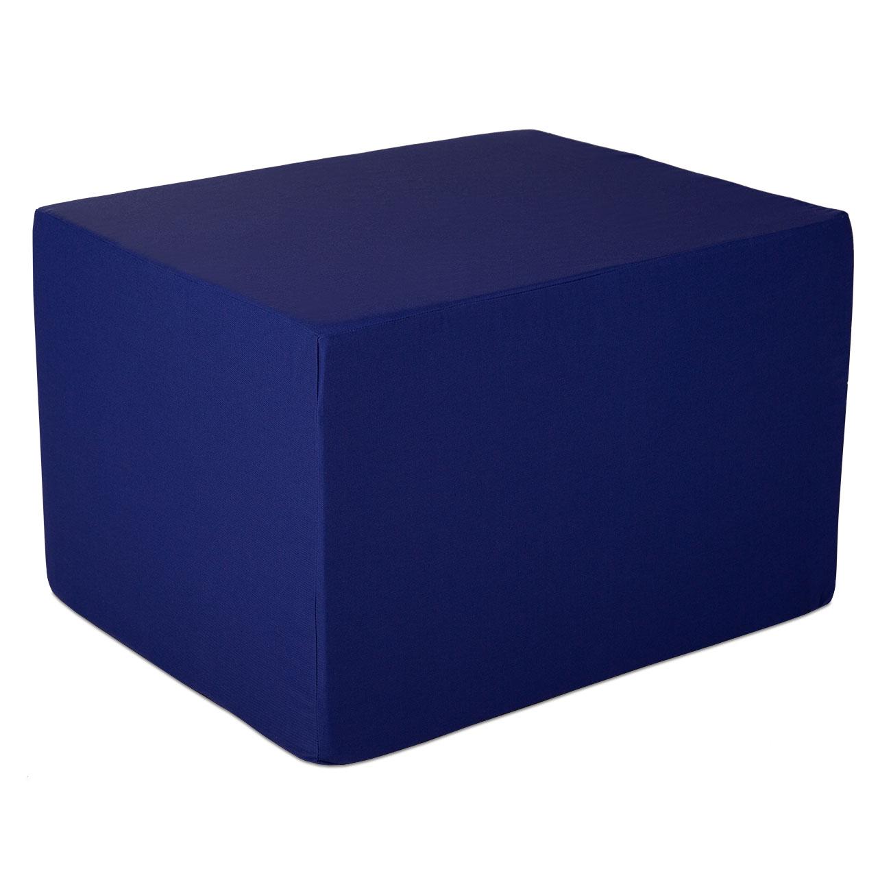 Bandscheibenwürfel blau. Ein Würfel, viele Möglichkeiten!