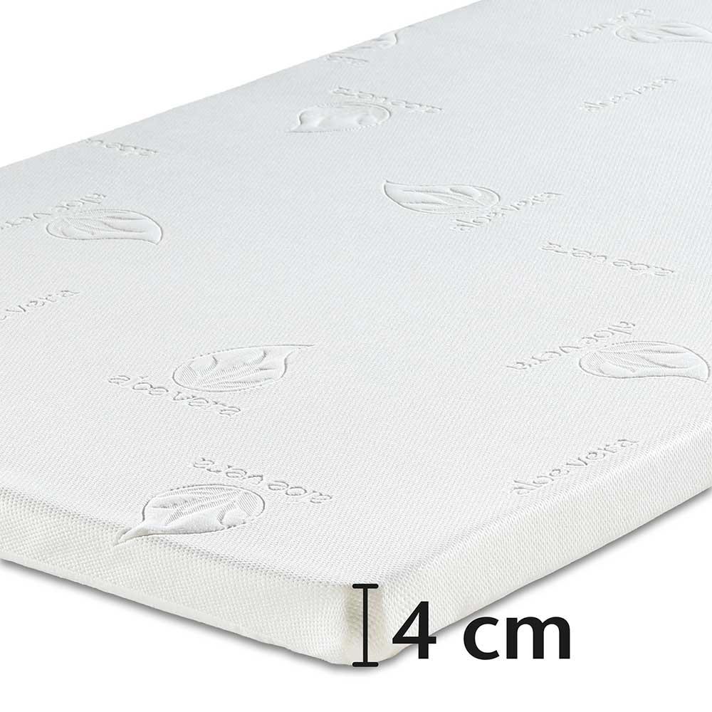 4cm genügen, um Ihren Schlafkomfort extrem zu erhöhen.