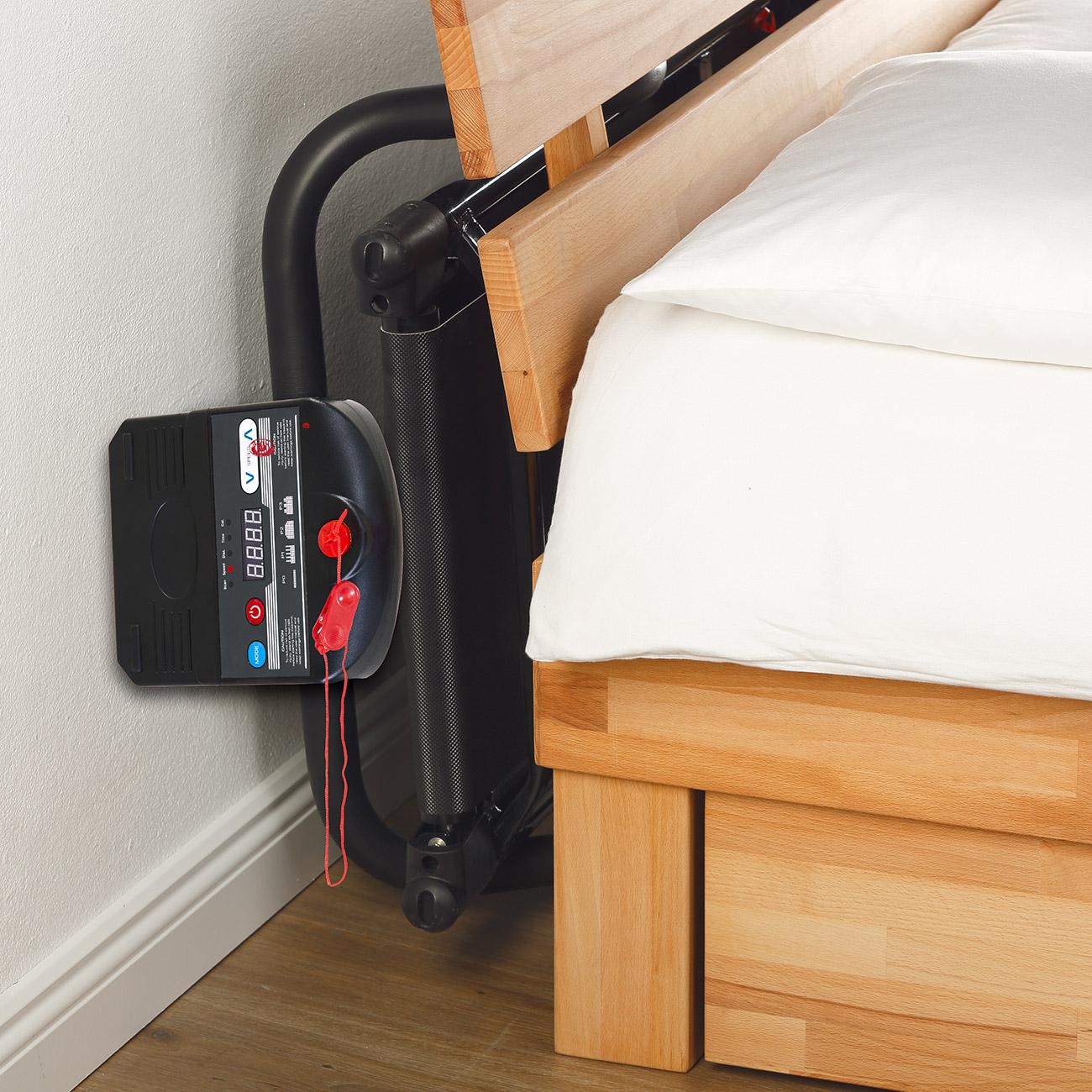 Nach Gebrauch schnell verstaut z.B. unter´m Bett und Sofa