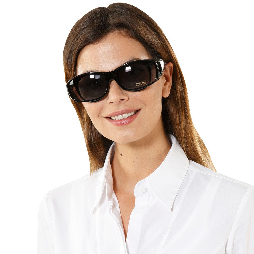 Ideal als Sonnenbrille für Brillenträger geeignet.