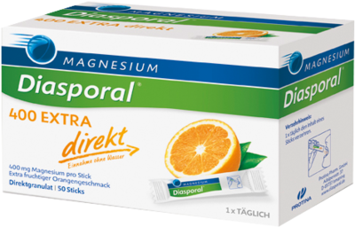 Magnesium Diasporal 400 Extra direkt Granulat 50 St