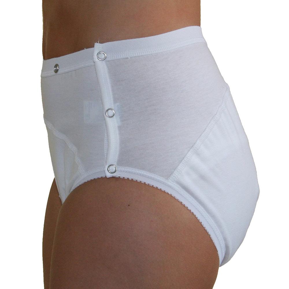 Mit 100 % Baumwolle ist die Inkontinenz-Schutzhose sehr weich, hautfreundlich und hygienisch bei 95 °C waschbar.