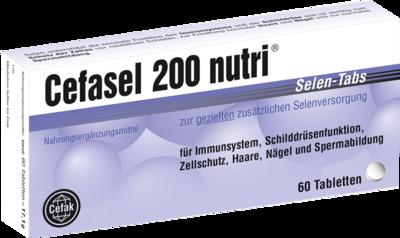 Cefasel 200 nutri Selen-Tabs 60 St