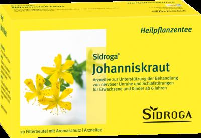Sidroga Johanniskraut Tee Filterbeutel 20X1.75 g