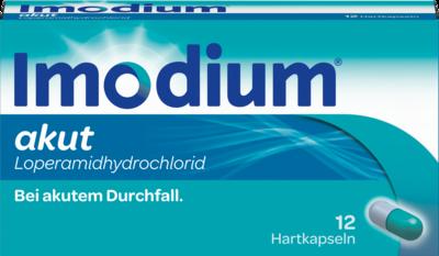 Imodium akut Hartkapseln 12 St