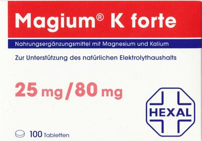 Magium K forte Tabletten 100 St