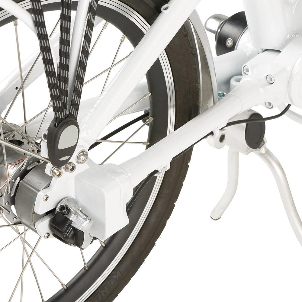 Durch den wartungsfreien Kardanantrieb entfallen lästige Wartungsarbeiten. Und auch die Fahrradkette kann Ihnen ab sofort nicht mehr abspringen.