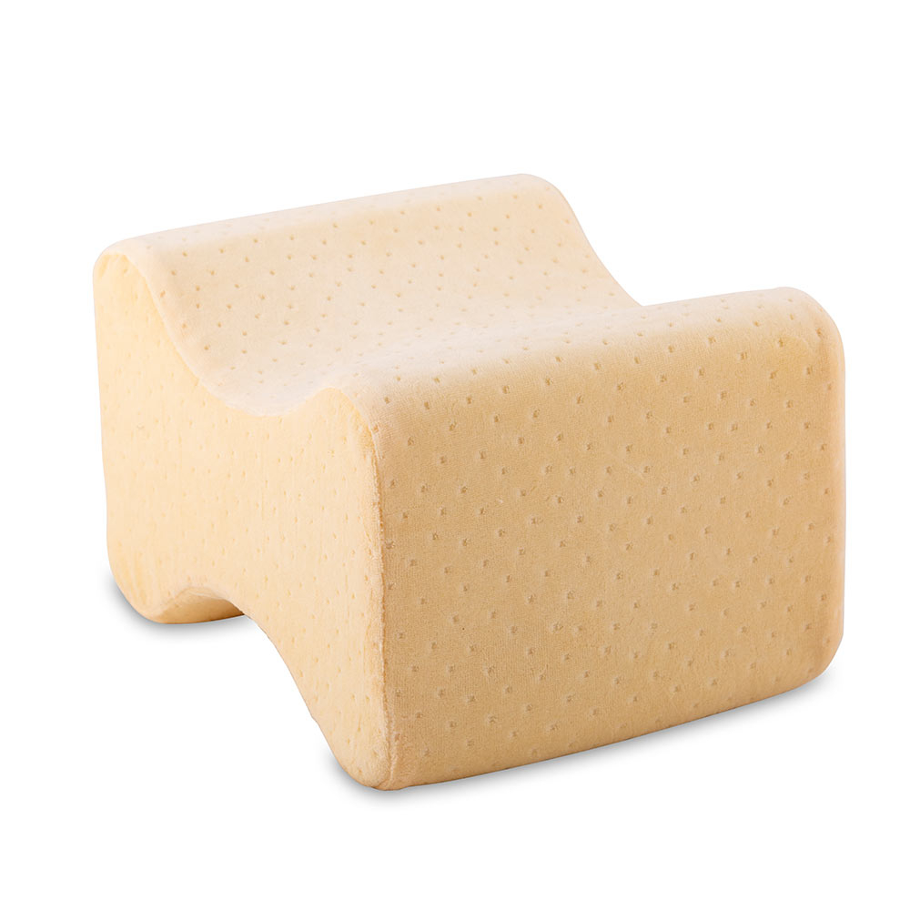 Mit seiner ergonomischen Form und seinem Kern aus Visko-Mineralschaum passt sich das Kniekissen perfekt an Ihren Körper an.