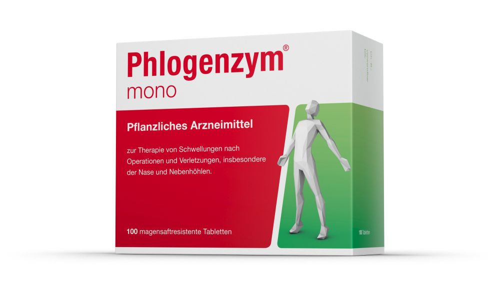 Phlogenzym mono magensaftresistente Tabletten 100 St