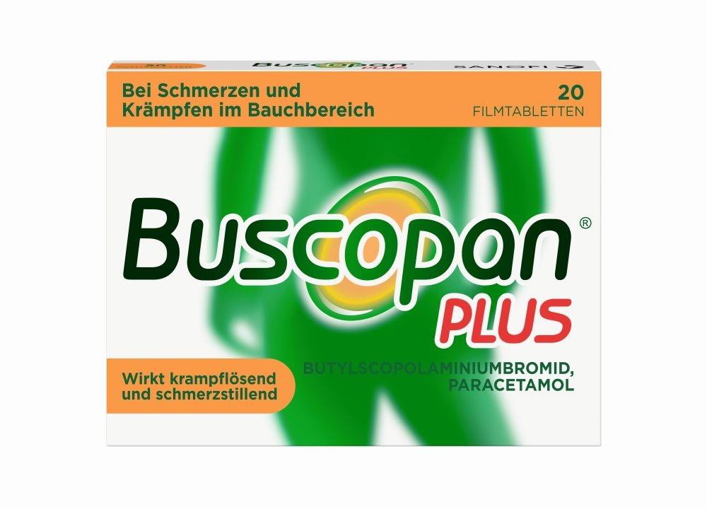 Buscopan plus Filmtabletten 20 St