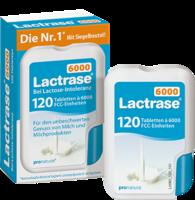 Lactrase 6.000 FCC Tabletten im Klickspender 120 St