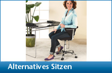 Alternatives Sitzen