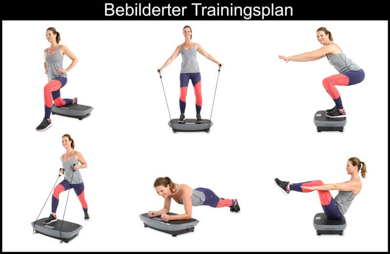 Vibrationsplatte trainingsplan